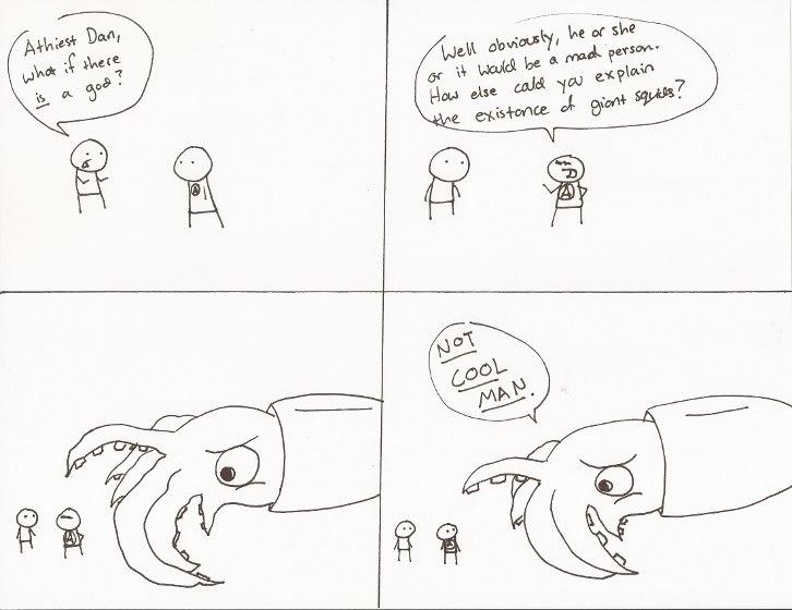 Comic 26 - Giant Squids